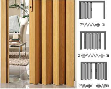 Venta de estores puertas plegables y venecianas en alicante for Puertas plegables interior
