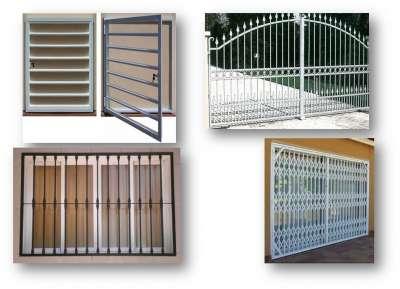 Rejas a medida fabricaci n servicio para alicante - Fotos de puertas metalicas para casas ...